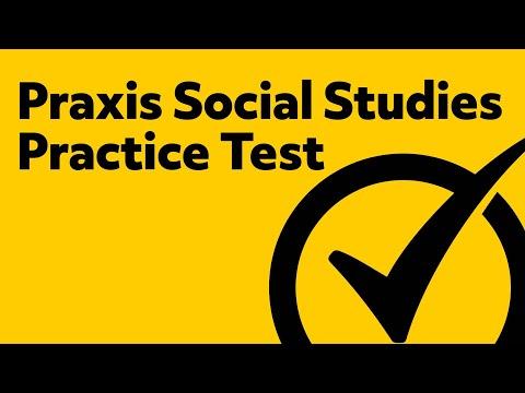 Praxis Social Studies: Content Knowledge Practice Test