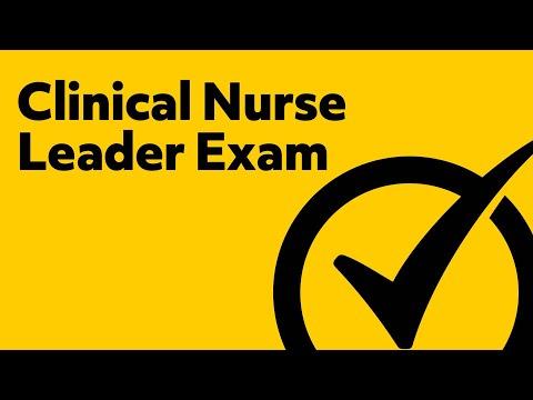 Clinical Nurse Leader Exam