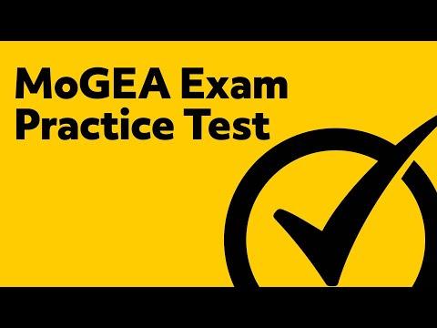 MoGEA Exam Practice Test