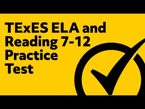 TExES English Language Arts and Reading 7-12 Practice Test