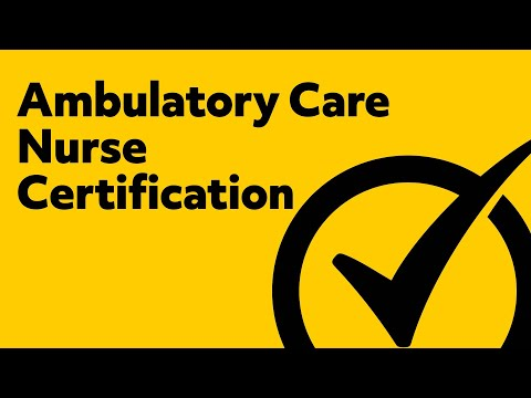 Ambulatory Care Nurse Certification (Practice Test)