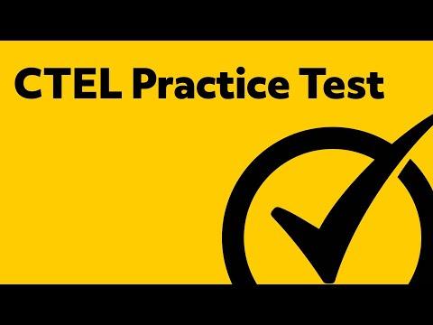 CTEL Test Prep