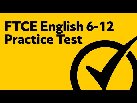 FTCE English 6-12 Practice Test (Online)