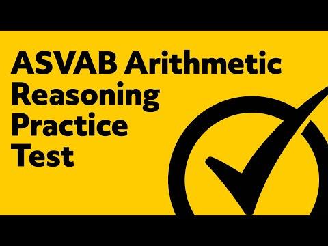 ASVAB Arthimetic Reasoning Practice Test