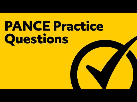PANCE Practice Questions