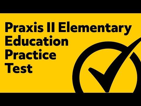 Praxis II Elementary Education: Multiple Subjects (5001) Practice Exam