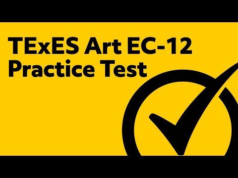 TExES Art EC-12 Practice Test