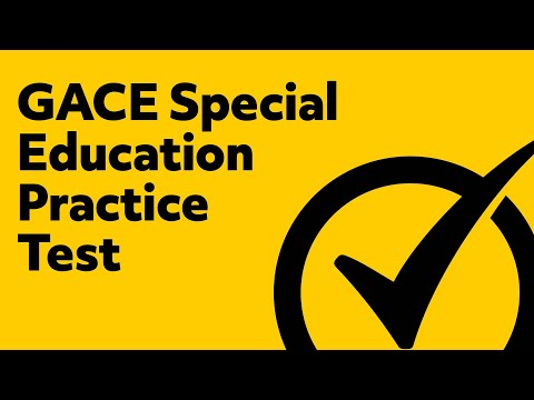 GACE Special Education General Curriculum Practice Questions