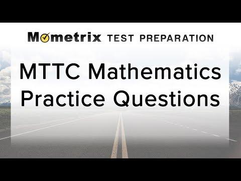 Free MTTC Mathematics (Secondary) Practice Test (022)