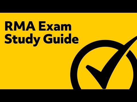 RMA Exam Study Guide