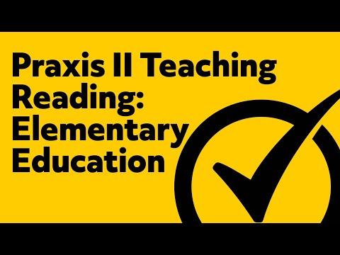 Praxis II Teaching Reading: Elementary Education (5203) Exam Practice Test