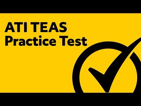 ATI TEAS 6 Review (Practice Test)
