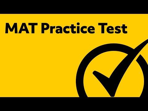 MAT Practice Test