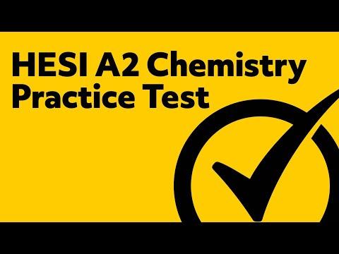 HESI A2 Chemistry Practice Test