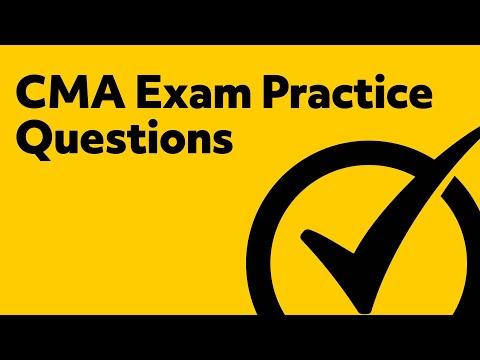 CMA Exam Prep (PRACTICE QUESTIONS)