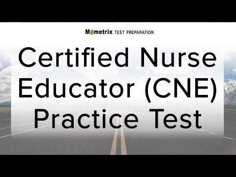 Certified Nurse Educator (CNE) Practice Test