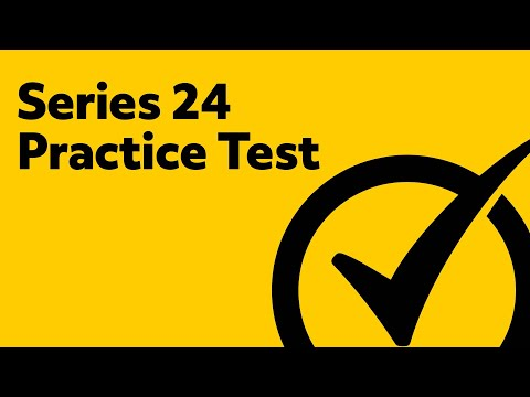 Series 24 Exam Practice Test