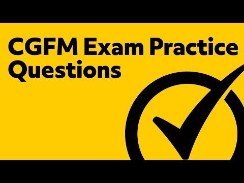 CGFM Exam Practice Questions