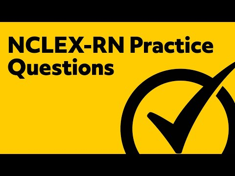 NCLEX-RN Review | FREE Practice Questions