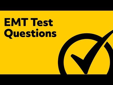 EMT Test Questions