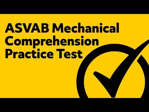 ASVAB Mechancial Comprehension Practice Test