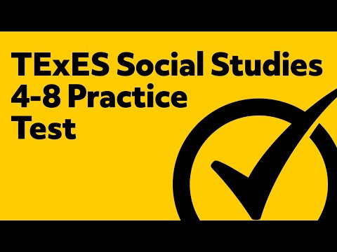 TExES Social Studies 4-8 Review