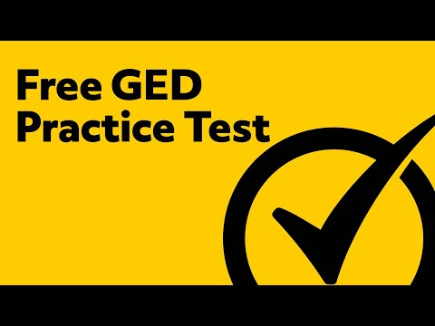 Free GED Practice Test 2019