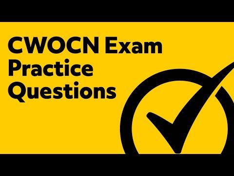 CWOCN Exam Practice Questions