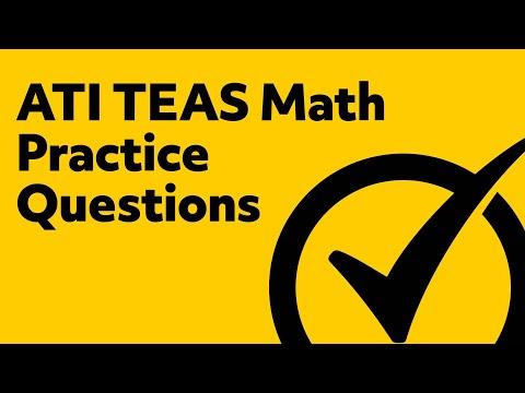 Free TEAS Math Practice Test