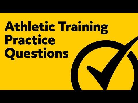 Athletic Training Exam Questions