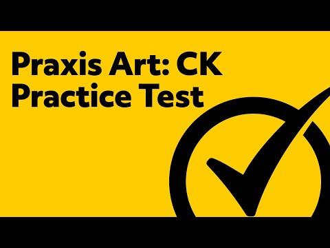 Praxis Art: Content Knowledge (Practice Test)