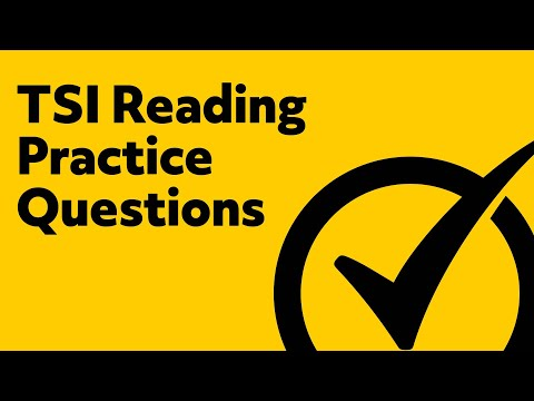TSI Reading Practice Test
