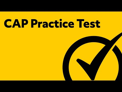 CAP Exam (Sample Questions and Answers)