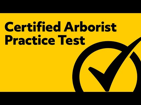 Certified Arborist Test Preparation