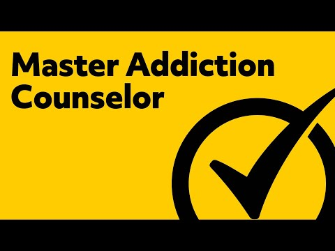 Master Addiction Counselor (Study Guide)