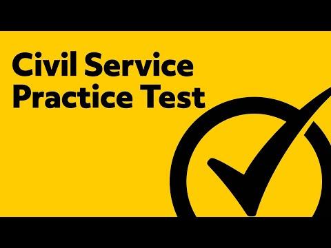 Civil Service Exam (Preparation & Practice)