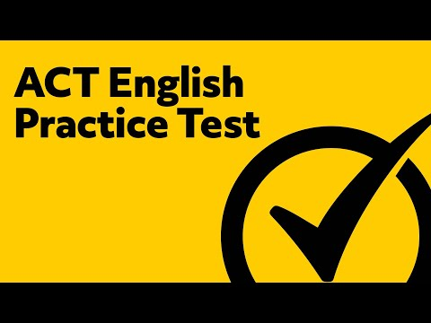 ACT English (Prep and Review)