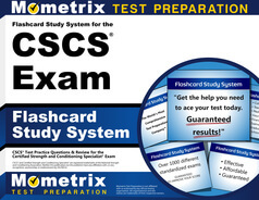 CSCS Flashcards