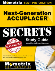 Next Gen ACCUPLACER Study Guide