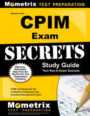 CPIM Study Guide