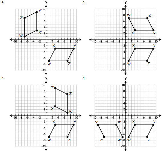 Common Core Mathematics: Geometry Practice Test (Questions
